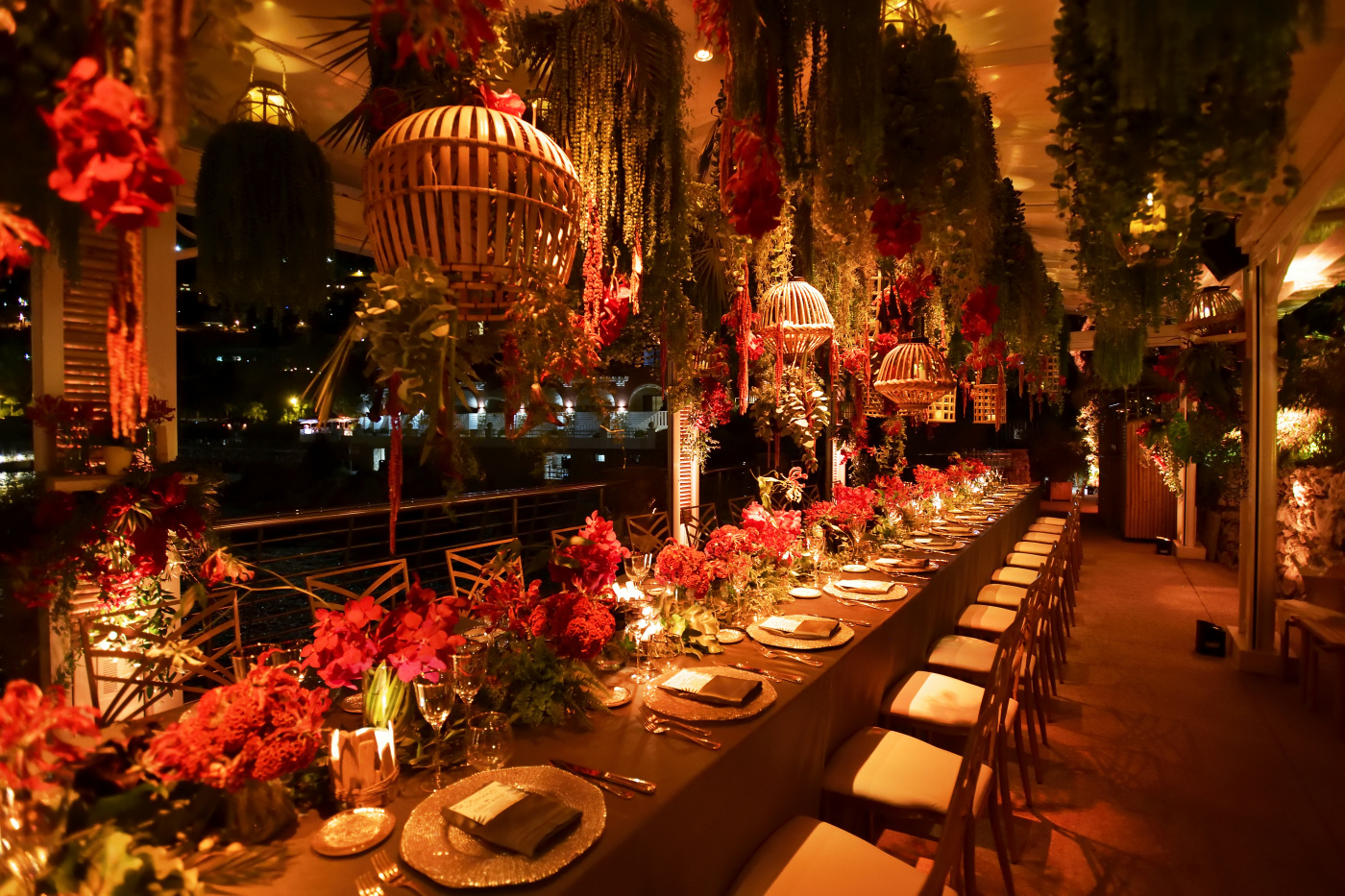 tropical style birthday party south france