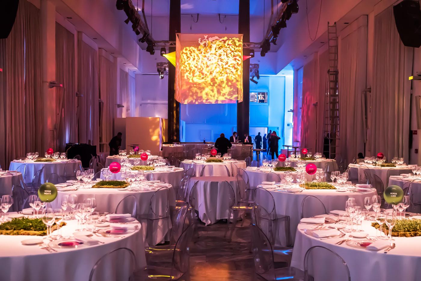Corporate event roma dinner