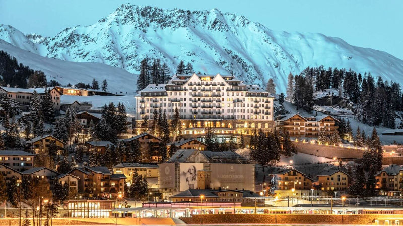 Exclusive Wedding Location in St. Moritz