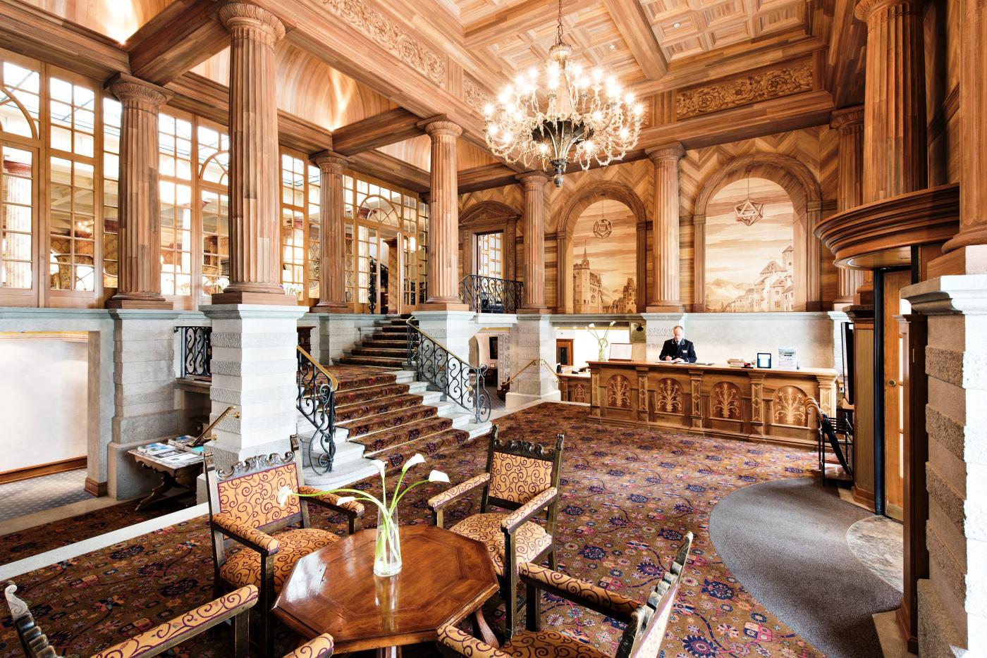 Luxury hotel Saint Moritz kulm hotel wedding