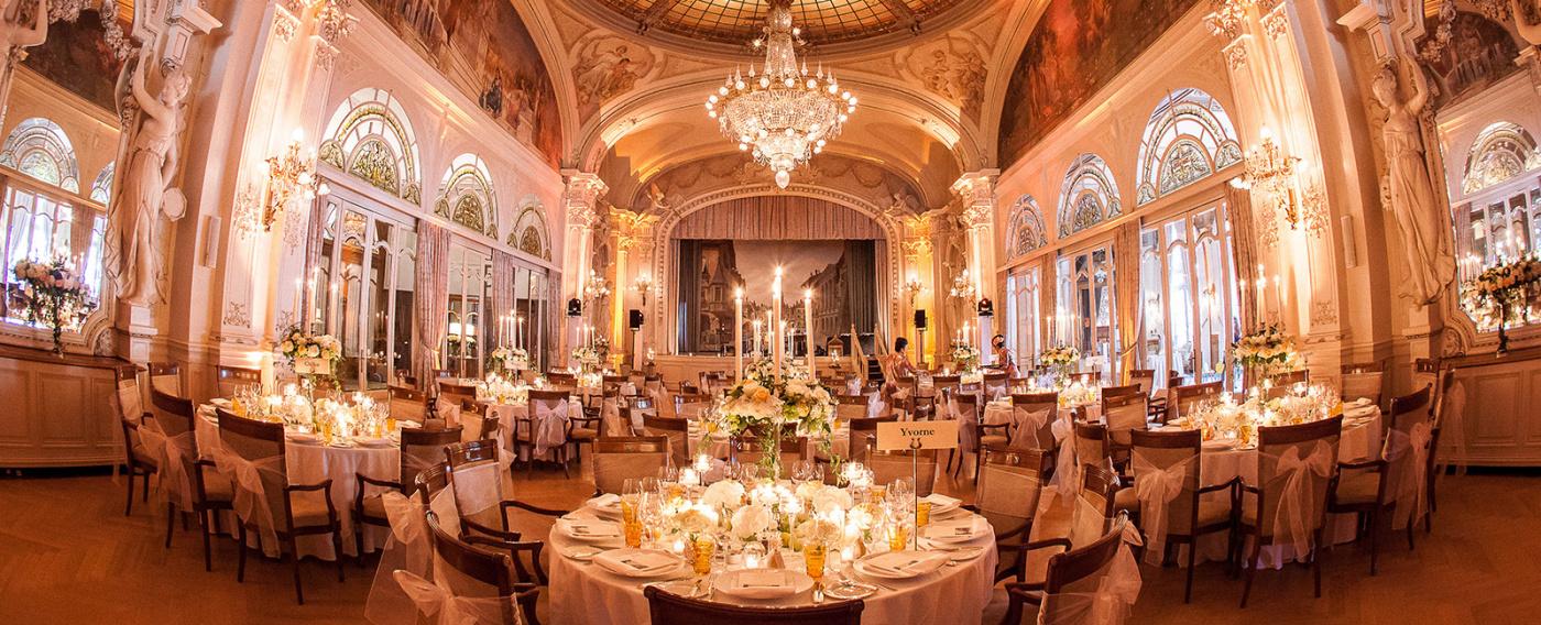Luxury ballroom for weddings Lake Geneva