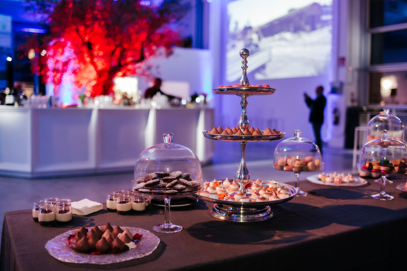 Dessert buffet for corporate event