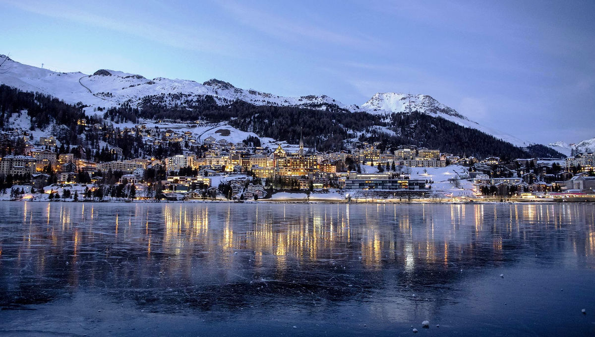 Unique marriage and events in St Moritz